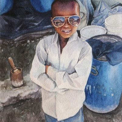 Watercolor, 8x10. 2012.
