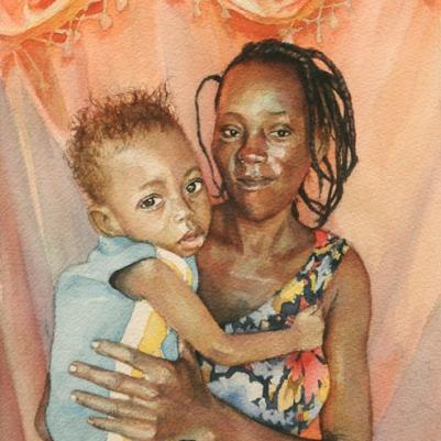 Watercolor, 8x10. 2014.