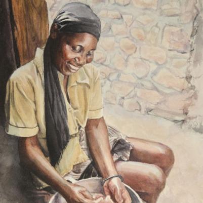 Watercolor, 8x10. 2013.