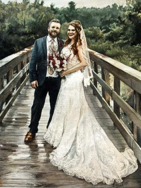 wedding portrait valerie