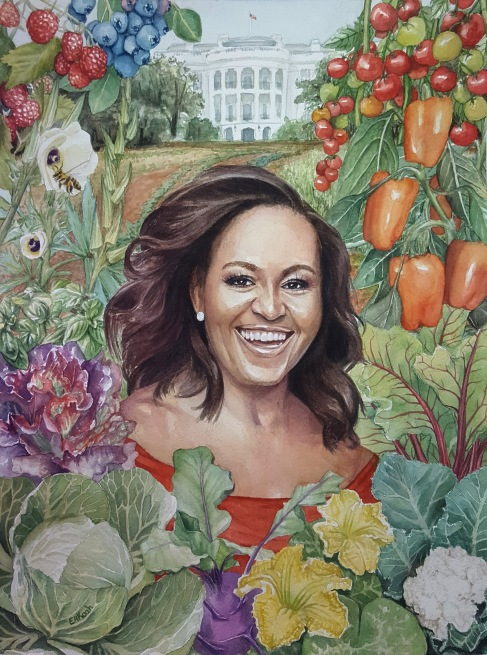 Michelle Obama Horticultural Hero