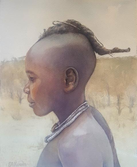 Himba boy portrait